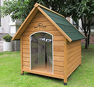 Pets Imperial® Medium Wooden Sussex Dog Kennel With Removable Floor For Easy Cleaning B by Pets Imperial®