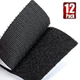 "Best VELCRO Double Sided Tapes - BRAVESHINE 12Pcs 2.4"" x2.4"" Strong Tape Double sided Review"