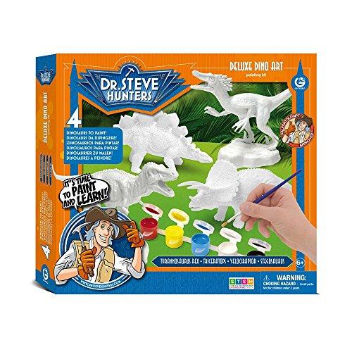 Dr. Steve Hunters cl1698K-Juegos Deluxe Dino Art Kit