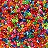 Perlenmix transparent mit Glitzer, 1 kg ✓ Perlen-Set ist bunt gemischt mit verschiedenen Motiven ✓ Bastelperlen sind transparent mit Glitzer ✓ Kunststoffperlen ca. 1x1x0,5 cm ✓ Plastikperlen mit Loch ca. 3-4 mm ✓ Perlenmischung zum auffädeln / basteln ✓ idealer Kunststoffperlen-Mix für erste Bastelanfänge | trendmarkt24 - 2880