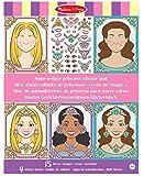 Melissa & Doug 19433 Make-a-Face Princesses Craft