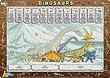 Little Wigwam - Dinosaurier Platzdeckchen Platzset Tischset Für Kinder (Englisch)