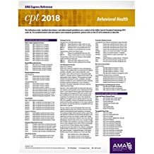 CPT 2018 Express Reference Card: Behavioral Health