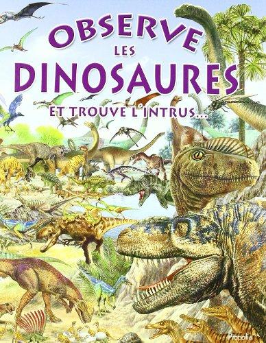 Observe les dinosaures : Et trouve l'intrus...