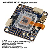 AIO F7 Controladora De Vuelo V2 , Intergreted OSD Flight Controller ( SBUS/PPM Input , 4PWM Output , SD Card solt , 2-4s natively , Airbot 4in1 ESC Port ) for PFV Racing Drone Quadcopter by LITEBEE