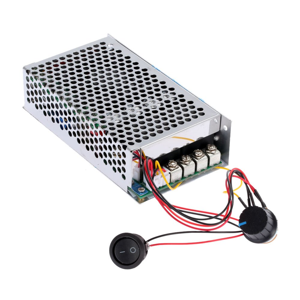 KKmoon 10-50V/60A/3000W DC Motor Speed Control PWM HHO RC Controller