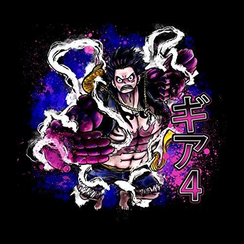 Gear 4 Luffy One Piece Men's Vest Black