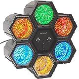 PartyFunLights 6 LED Linkable Lights, schwarz, 86231