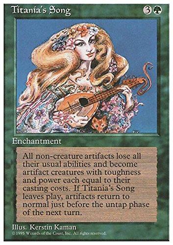 Magic: the Gathering - Titania's Song - La Canzone di Titania - Fourth Edition