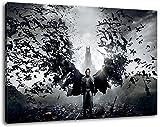 dracula Format 120x80 cm Bild auf Leinwand, XXL riesige Bilder fertig gerahmt mit Keilrahmen, Kunstdruck auf Wandbild mit Rahmen
