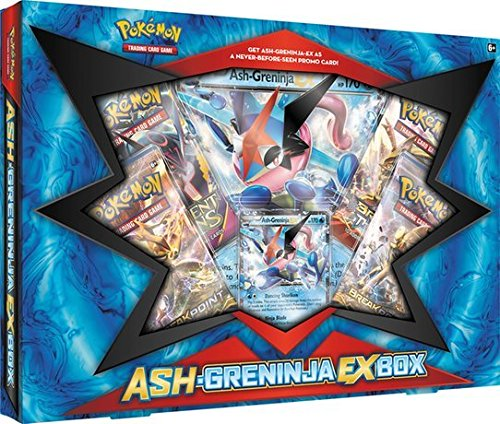 Pokémon TCG: Coffret Ash-Greninja EX Box (Sachanobi) - Version Anglaise