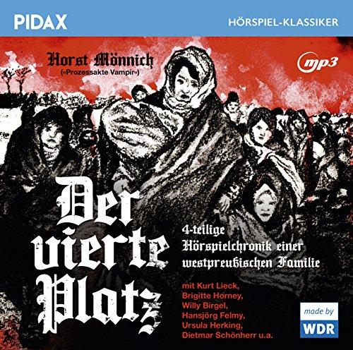 Pidax Hörspiel-Klassiker - Der vierte Platz (Horst Mönnich) WDR 1962 / pidax 2016
