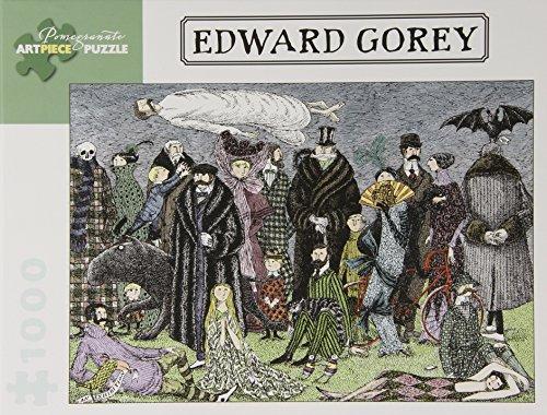 Edward Gorey 1000-Piece Jigsaw Puzzle Aa820 (Pomegranate Artpiece Puzzle)