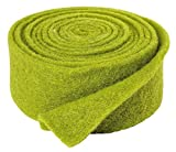 VBS Einfarbiges Filzband, ca. 5 x 250 cm grün