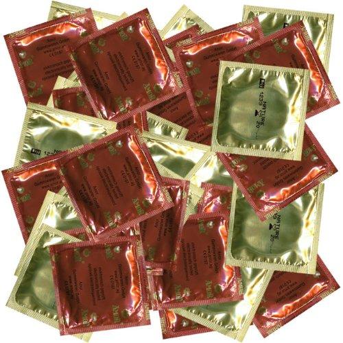 AMOR Kondome Nature 1000 Stück XXXL Packung durchsichtig transparent sicher