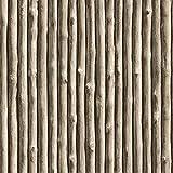 Muriva Papier Peint Motif Morceaux de Bois Gris