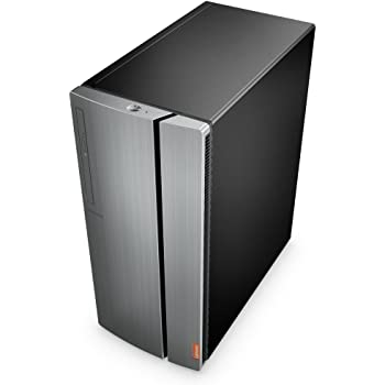Lenovo IdeaCentre 720-18ASU - Ordenador de sobremesa (Procesador AMD Ryzen5, 8GB de RAM, 1TB HDD, AMD RX560-4GB, sin sistema operativo), gris - Teclado ...