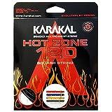 Karakal - Ensemble de cordage pour raquette de squash Hot Zone 120, Noir