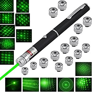 13 Diffrent Shape Professional High Power Green Laser Pointer 5mw