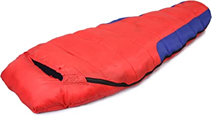 Klair Red Ultra Light Dual Tone Inner Warmed Sleeping Bag [Premium Quality]