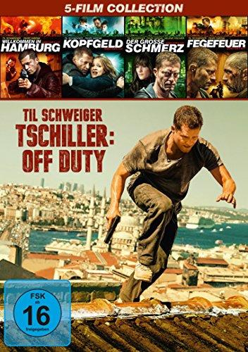 Tatort Box-Set: Tatort mit Til Schweiger (1-4) + Tschiller: Off Duty [6 DVDs]