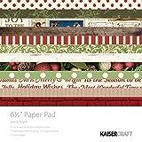 Kaisercraft Silent Night 16,5cm Papier Pad, mehrfarbig