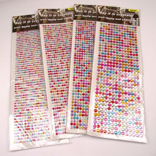 up-to-1350x-stick-on-self-adhesive-rhinestones-multicolour-3mm-x1350-pcs