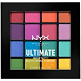 Nyx Professional Makeup Ultimate Shadow Palet, 16 Tinten, Glanzend En Metallic, Brights, Meerkleurig