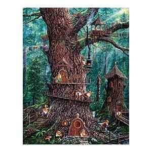 Puzzle 1.000 Pièces Nains de la forêt (Pièces XXL) 36510 SunsOut