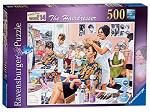 Ravensburger Happy Days at Work Nº 14 - Puzzle de 500 Piezas, diseño de Caballero