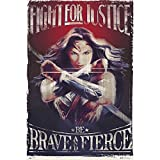 Grupo Erik Editores Poster Wonder Woman Fight For Justice