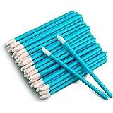 100 STKS Wegwerp Lip Gloss Borstel, Blauwe Lipstick Concealer Borstels Lip Applicator Wands Perfecte Make-up Tool Kits