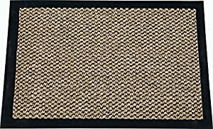 ID Mat 608010 Cahors/Florac Tapis Paillasson Fibre Polypropylène/PVC Brun 80 x 60 x 0,67 cm