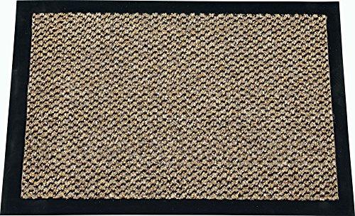 fu matte braun ID Mat 9015010 Cahors/Florac Fußmatte, Polypropylenfaser/PVC, 150x90x0,67cm, braun, 90 x 150 cm