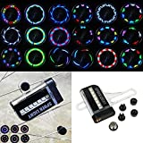 #4: FUN n SHOP 14 LED 8 Colors Bicycle Spoke Wheel LED Light 32 Patterns