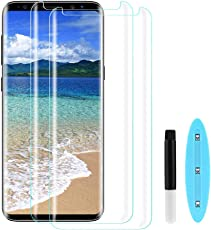 Etmury Galaxy S9 Panzerglas Schutzfolie, Upgrade Hartglas Displayschutz 9H Härte Galaxy S9,Anti-Scratch und Hohe Auflösung Displayschutzfolie für Samsung Galaxy S9-2 Stück