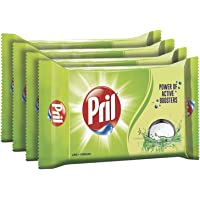 Pril Dish Wash Bar - 200 g (Buy 3 Get 1 Free)