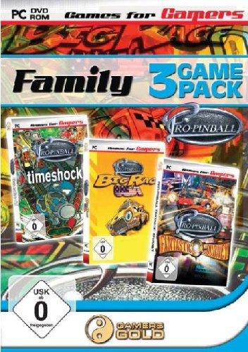 Family: 3 Games (Timeshock / Big Race USA / Fantastic Journey)