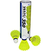 Yuvi fashion point® - YANYU 350 Badminton Shuttlecocks Nylon/Plastic with Great Durability Stability Suitable for Indoor…