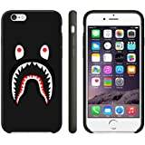 Bape Shark Coque iPhone Case Coque iPhone 6 Case ou Coque iPhone 6S Black(Noir) Plastic(Plastique) L8F0WTG