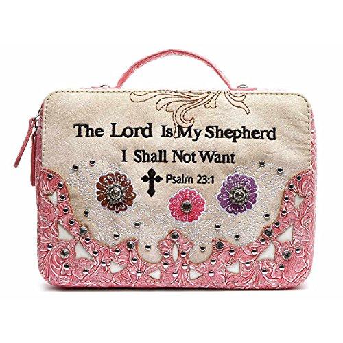 Bibel-Fall-Tasche Biblische Buch-Abdeckung Fuchsie