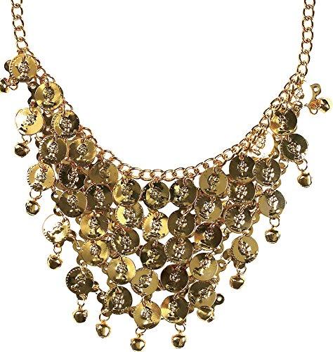 Münz-Halskette für Karneval oder (Kostüme Zigeuner Accessoires)