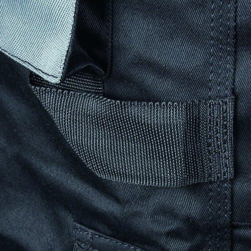 Pantaloncini Cargo Blackrock Workmans Misure 76,20 Cm - 111,76 Cm, Nero, Grigio, Blu Scuro / Grigio