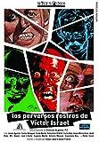 Los perversos rostros de Víctor Israel [DVD] (Vial of delicatessens)