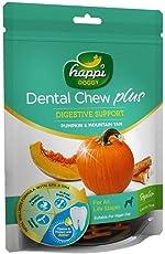 Happi Doggy Dental Chew Plus Dog Treats - Pumpkin & Mountain Yam - 150 GMS