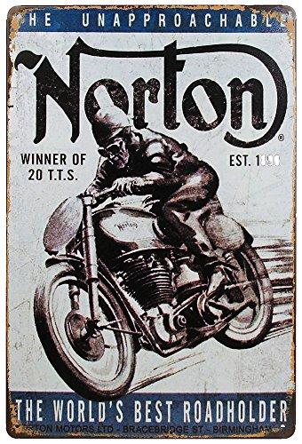 retro-blechschild-norton-motorrad-nostalgie-metallschild-biker-vintage-england