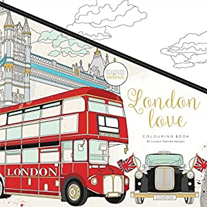 Kaisercraft - Libro para colorear London Love (CL538)