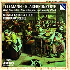 Telemann: Concerto In D Major For Trumpet, Violine, Strings And Basso Cont - 1. Vivace