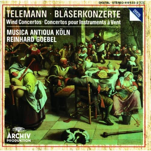 Telemann: Concerto In D Major For Transverse Flute, Strings And Basso Continuo, TWV 51:D2 - 1. Moderato