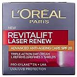 L'Oreal Paris Revitalift Laser Renew Anti-Aging Creme, LSF20, 50 ml